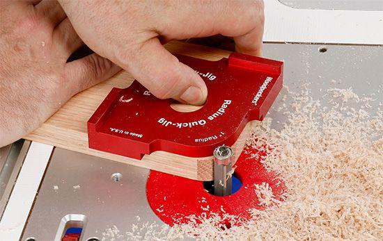 Photo of OneTIME Tool® – Corner Radius Quick Jig