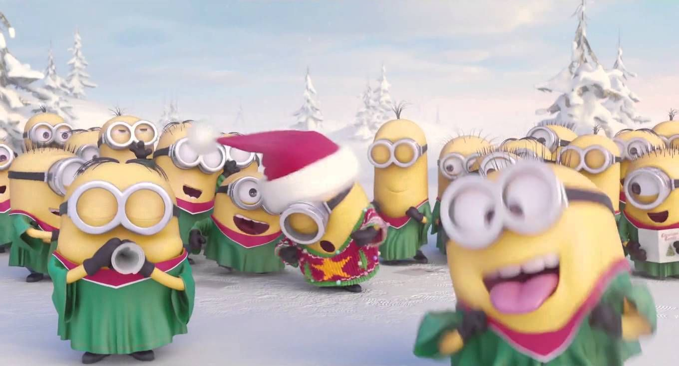 Celebrate the holidays with the Minions.