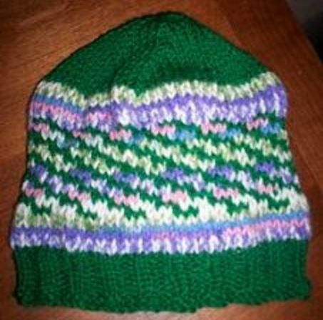 Mossy Meadow Knit Hat Pattern   Knitted hat patterns, Knit hats ...