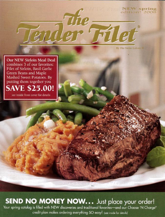 Tender Filet cover for Spring 2008.