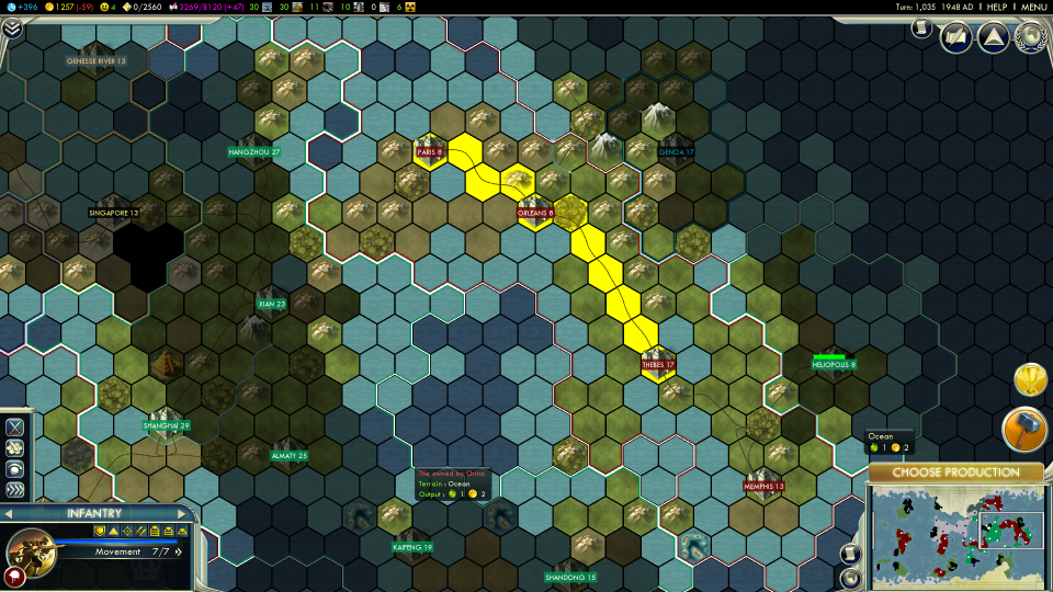 Imagery Represents Diffe Resources And Factions Within The Tiles