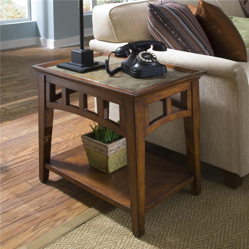 Painting Of Slate End Tables