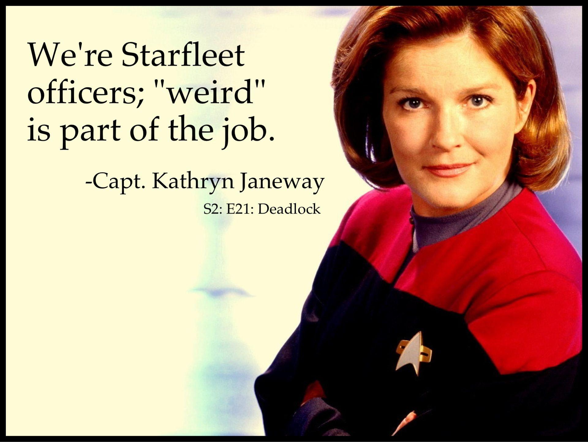 Captain Janeway Quotes Quotesgram