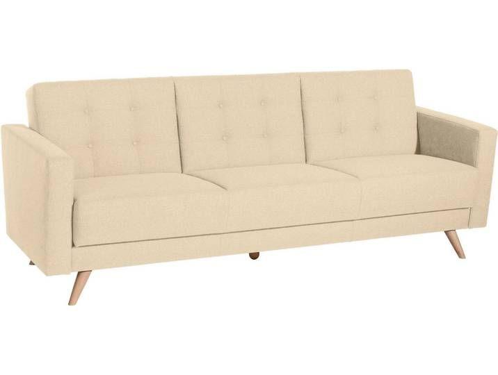Max Winzer 3 Sitzer Julius Inklusive Bettfunktion Bettkasten Breite 224 Cm Natur Beige 3 Sitzer Sofa Sofa Wohnen