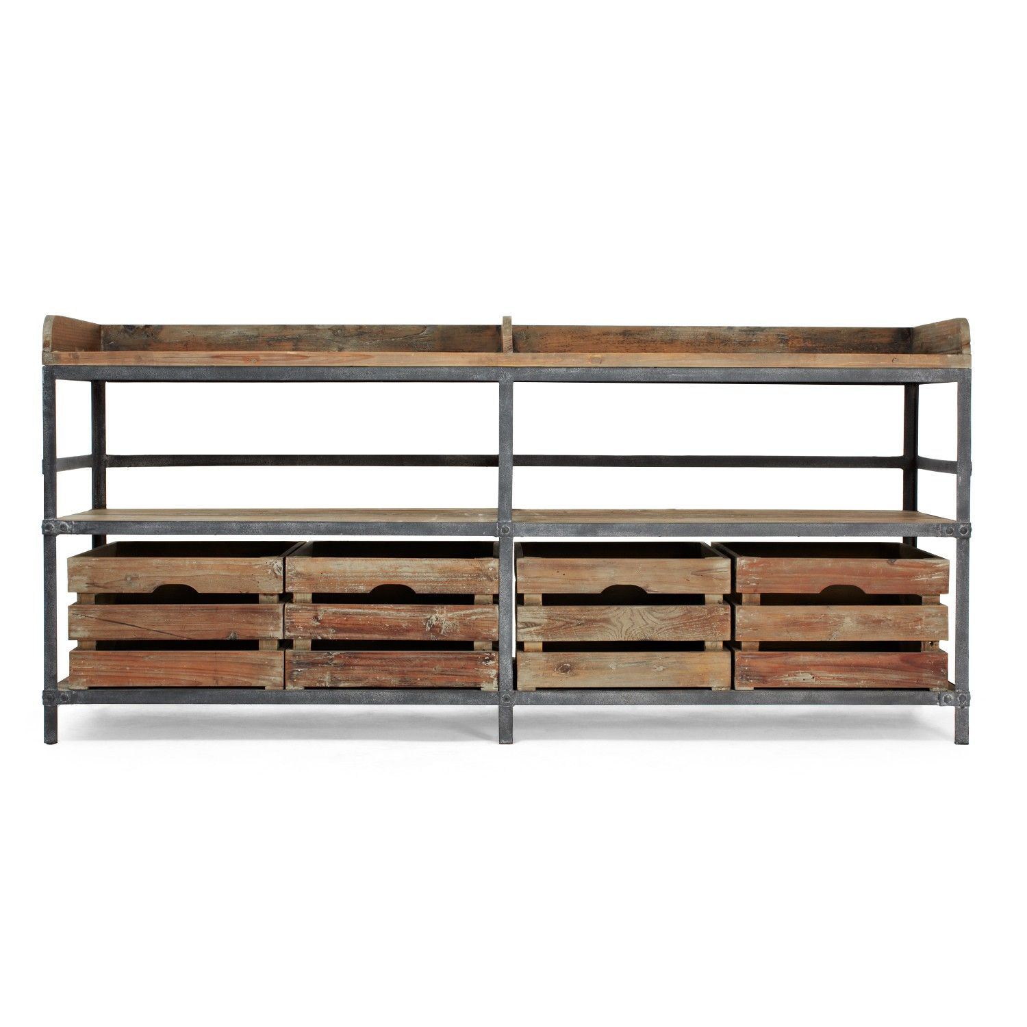 URBN 20 Reclaimed Pine Metal Sideboard
