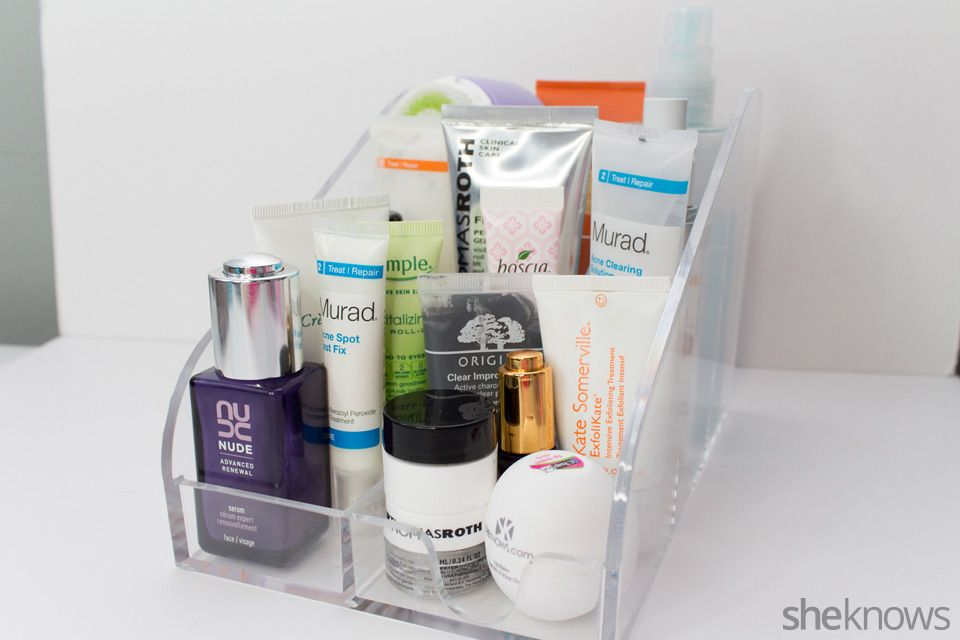 Creative Ways To Organize Beauty Products With Office Supplies