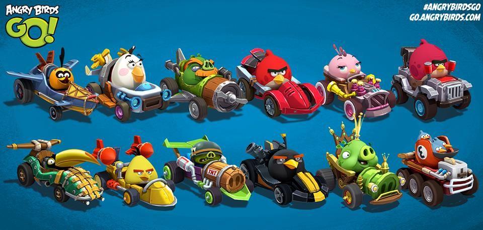Resultado De Imagen Para Angry Birds Go! 2