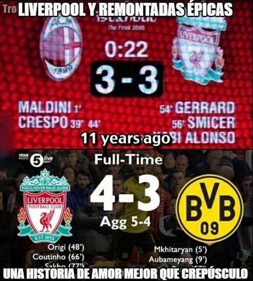 Gracias por tanto Liverpool