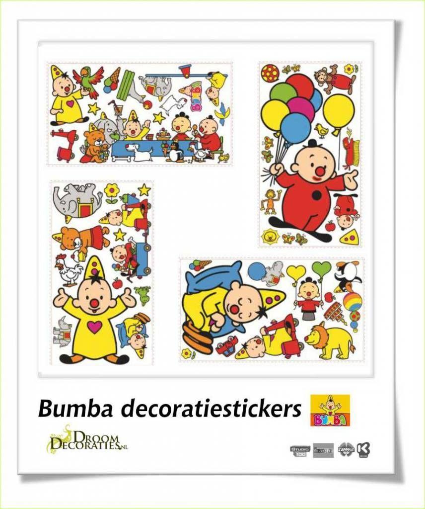 Stickers Voor Op De Muur Kinderkamer.Bumba Kinderkamer Muur Decoratie Stickers Zo Maak Je Snel Een Mooie