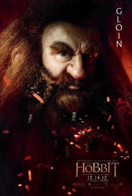 O Hobbit - Uma Jornada Inesperada - Poster Gloin
