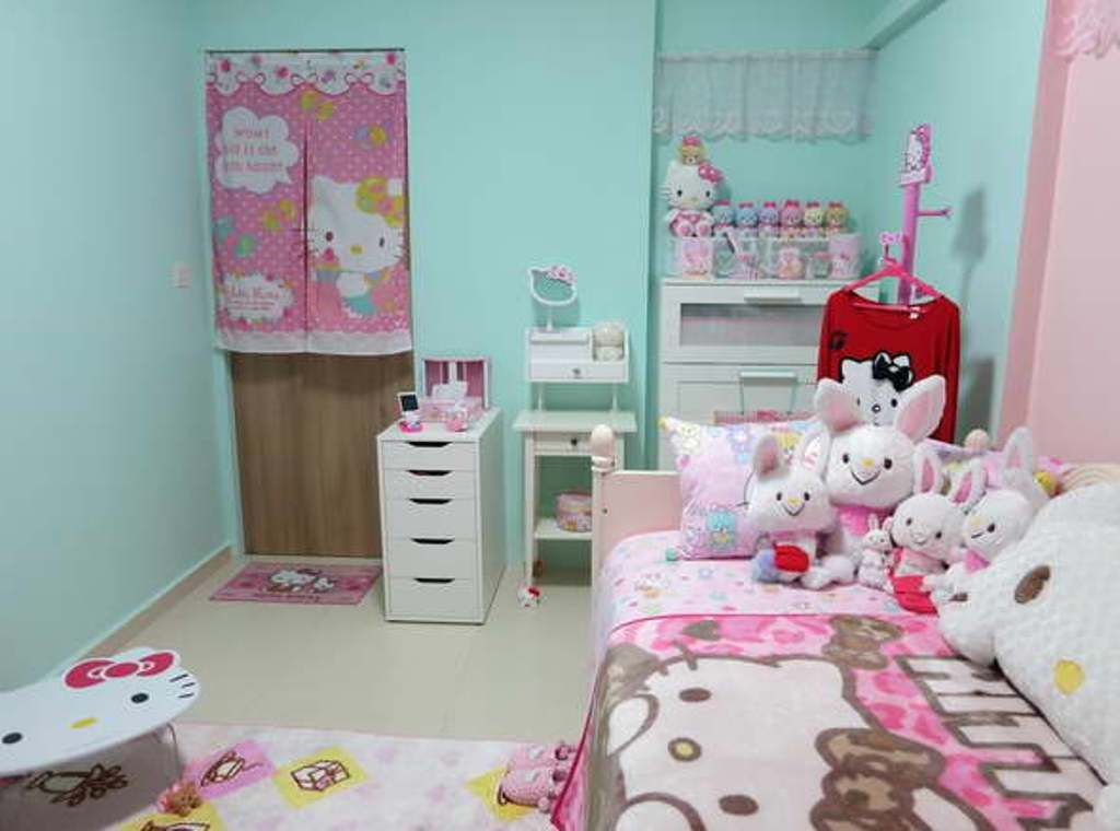 Walmart Hello Kitty Room Decor  Projects To Try  Pinterest Entrancing Hello Kitty Bedroom Designs Decorating Inspiration