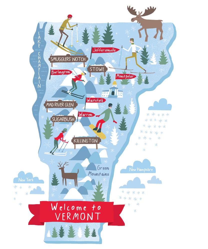 Story Worldwide Magazine Illustrierte Karten Landkarte Karten