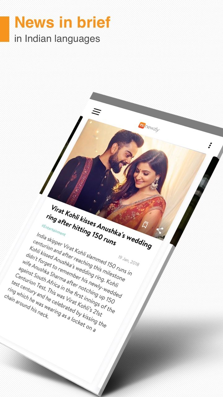 Dailyhunt Launches Newzly, a NewsinBrief App, in Nine