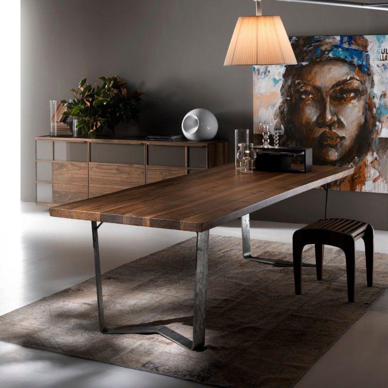Tavoli e sedie di design in legno delle migliori marche a for Marche tavoli