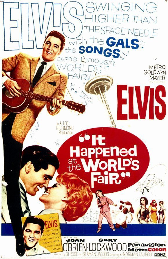 It Happened at the World's Fair 11x17 Movie Poster (1963)