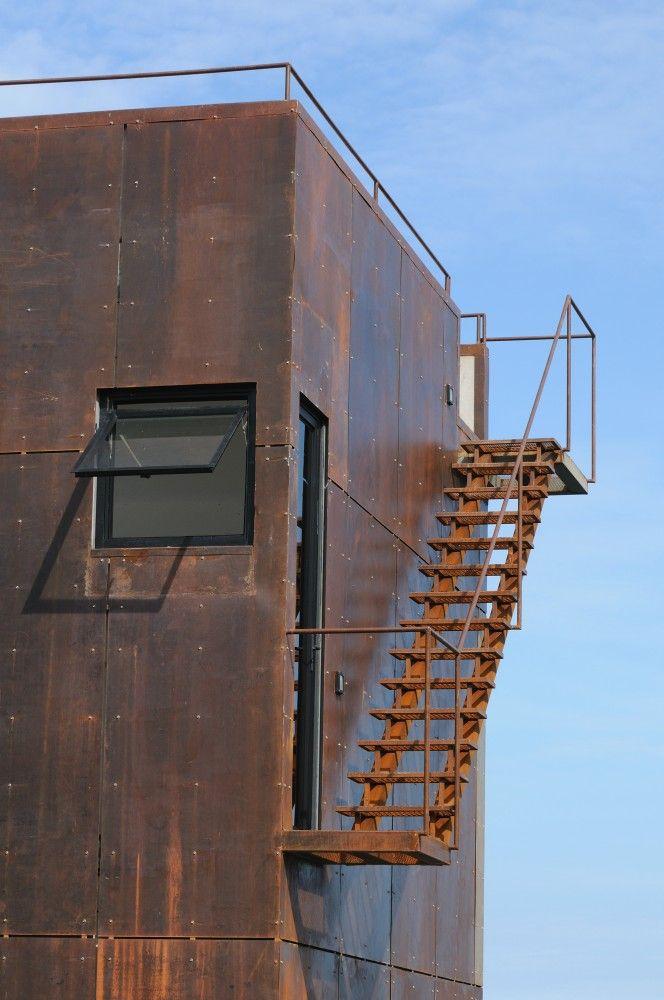 Arquitectura Casas Escaleras Exteriores Arquitectura: Escaleras Exteriores, Arquitectura Industrial Y
