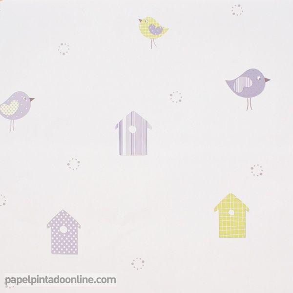 Papel pintado babies 10133 papel pintado infantil bebe babies pinterest wall papers - Papeles pintados bebe ...