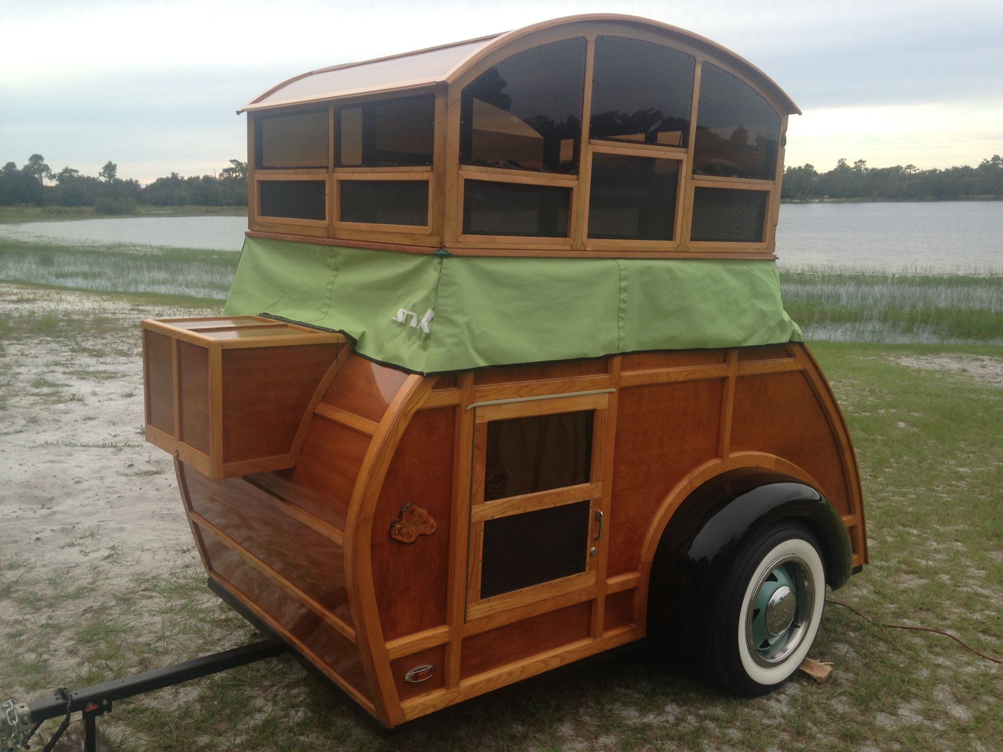 Pin By Gail Policella On Woody Teardrop Pop Up Camper