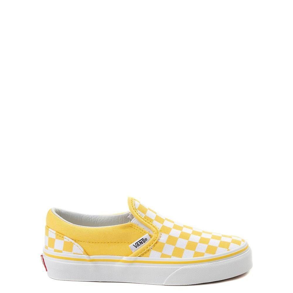 Youth/Tween Vans Slip On Chex Skate