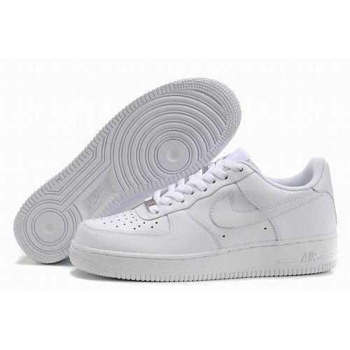 official photos 74ac3 a70b9 Nike Air Force 1 One Low Women All White Shoes 1003 For  56.00 Go To