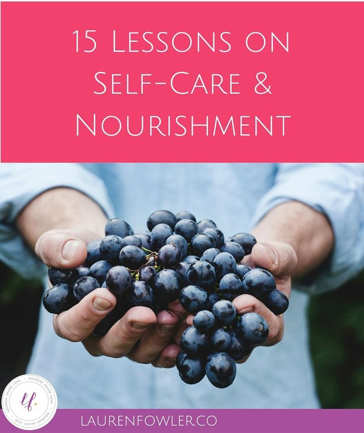 15 Lessons on Self-Care and Nourishment    Practicing self-care is all about meeting your needs, so you can be your authentic self with others. With self-care rituals, you can connect to yourself deeply! Click over to the post to grab your free self-care worksheet too!