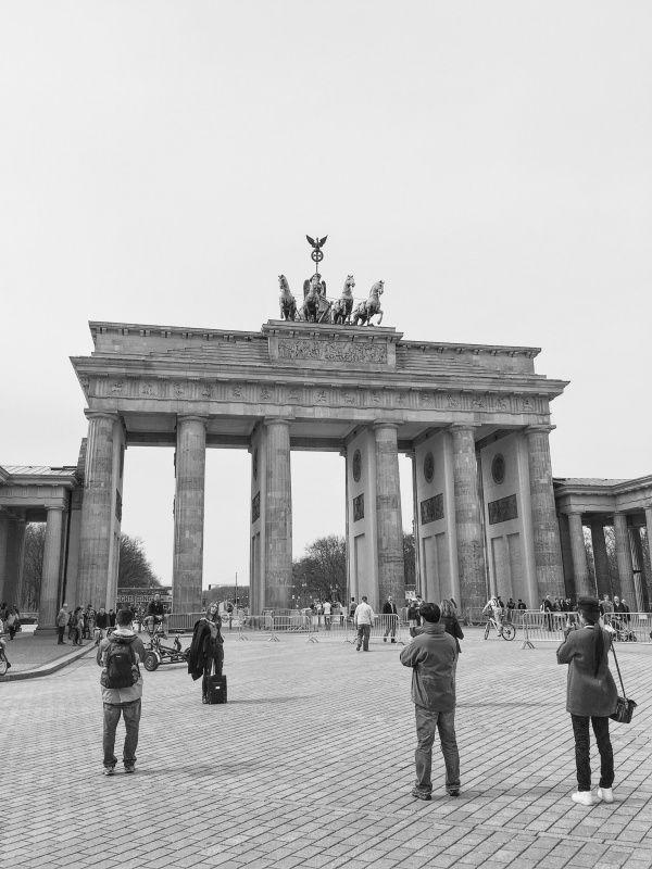 Berlin 2016 Brandenburger Tor Tasserud Vsco