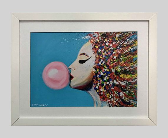 ORIGINAL ART PRINT BY ITAY MAGEN Each print is signed by the artist ...