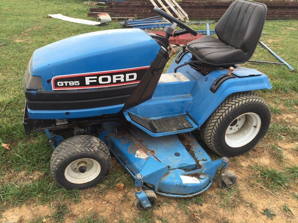 Ford Gt95 Garden Tractor 60 Deck Ford Garden Tractor Lawn Tractor Tractors
