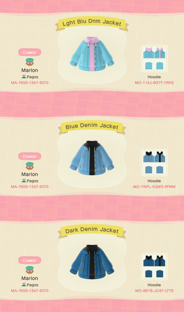 I made some Denim Jackets with sweatshirts at 3am