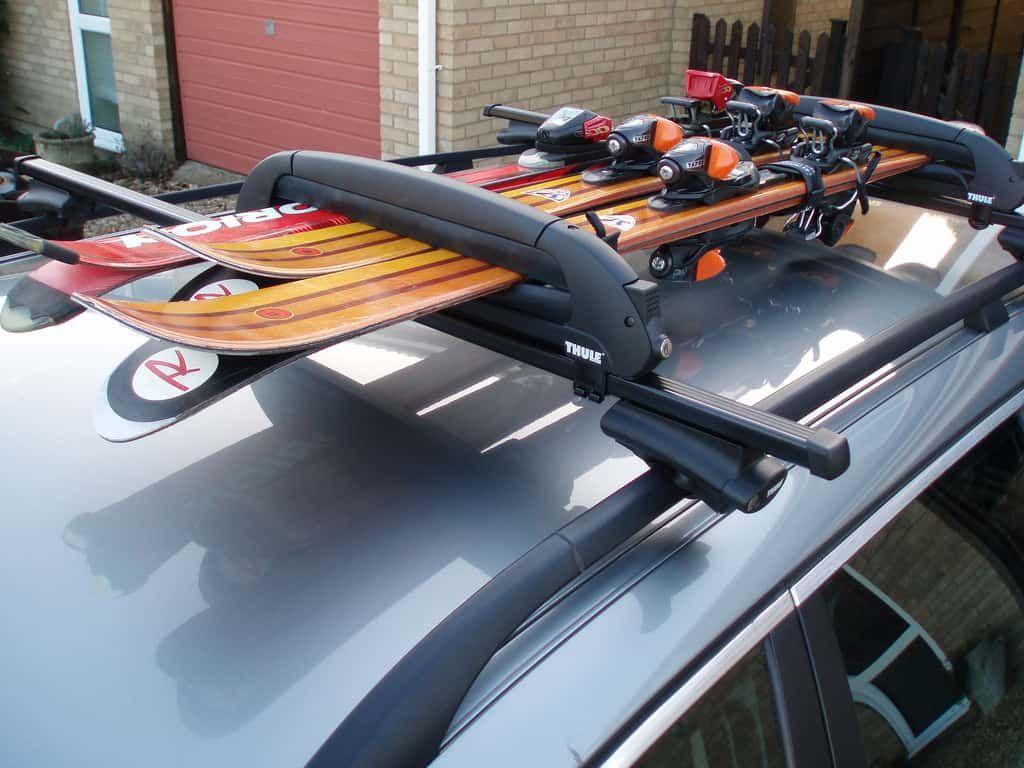 Thule Or Yakima Roof Rack In 2020 Roof Rack Bike Roof Rack Truck Roof Rack