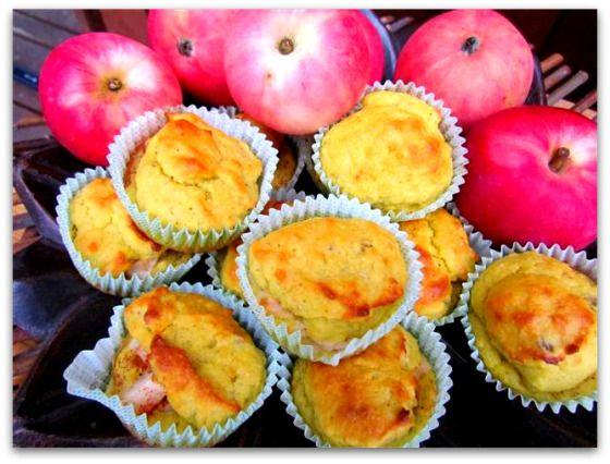 Omena-mantelimuffinssit   Juhlamielellä