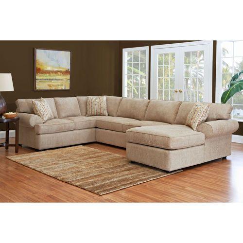 Costco Living Room Sets: Jillian Fabric Sectional - Costco