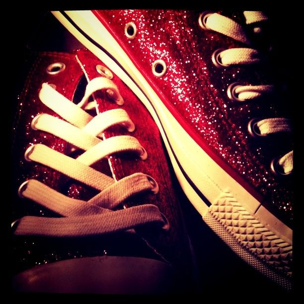 Ruby Red Converse | Red converse, Red