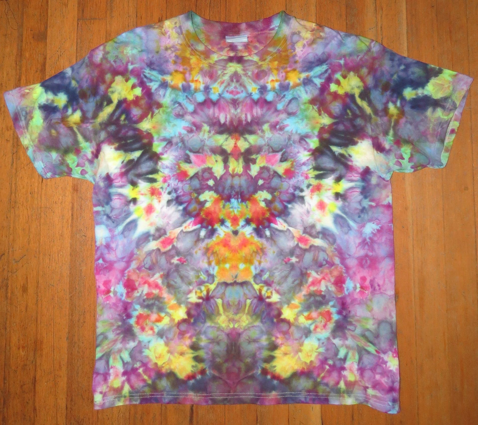 adb938e74731 Secrets of Tie Dye  Psychedelic Mindscape - Part 1 This tie dye style I  developed is the fruit of years of experience