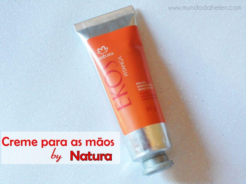 Creme para as mãos by Natura http://wp.me/p1x69g-2qb