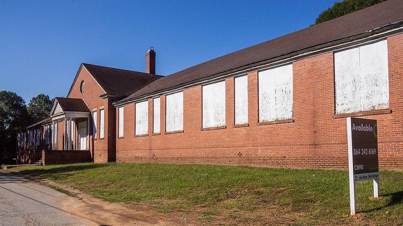 Greenville Sc Schools >> Allen School 6 Upstate South Carolina Historic Schools
