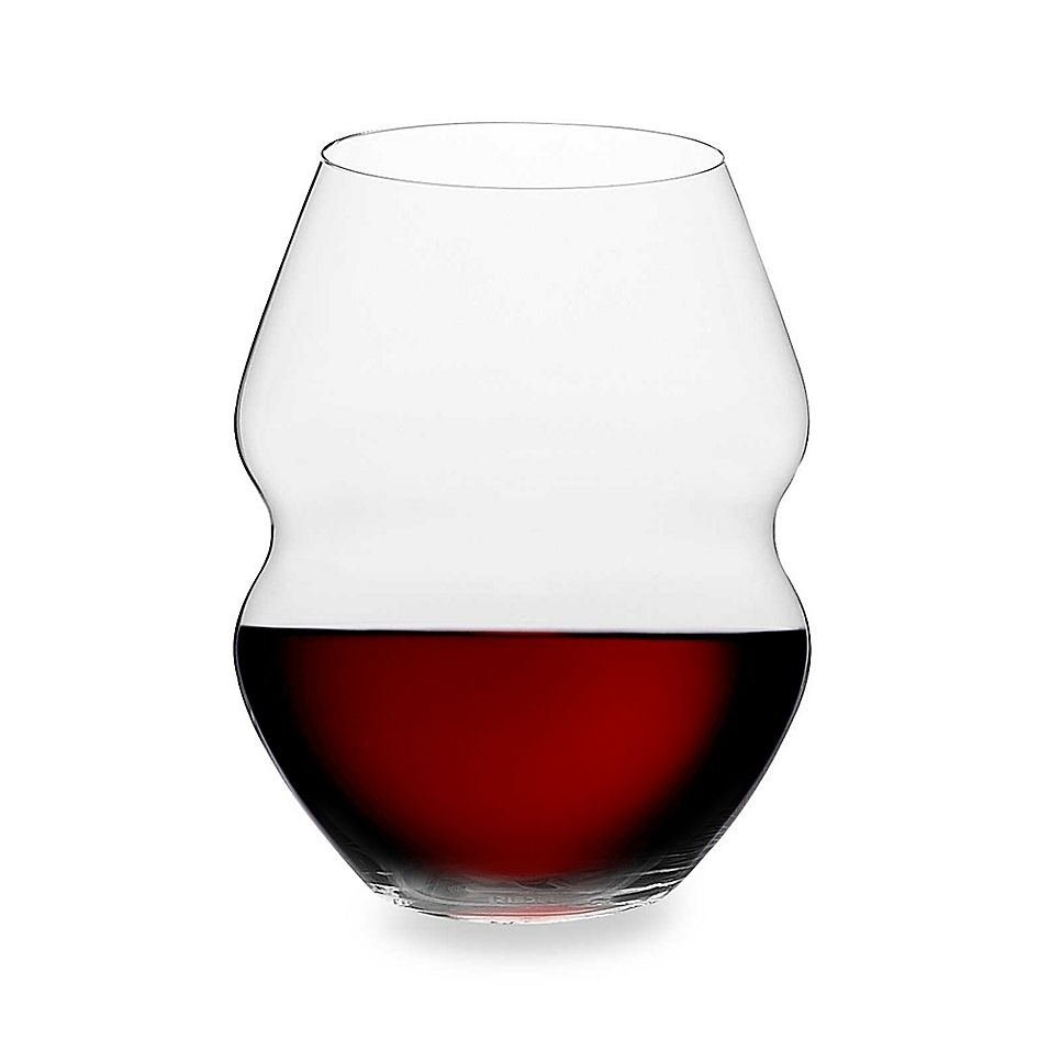 Riedel Swirl 20 1 2 Ounce Stemless Red Wine Glasses Set Of 2 Red Wine Glasses Red Wine Wine Glasses