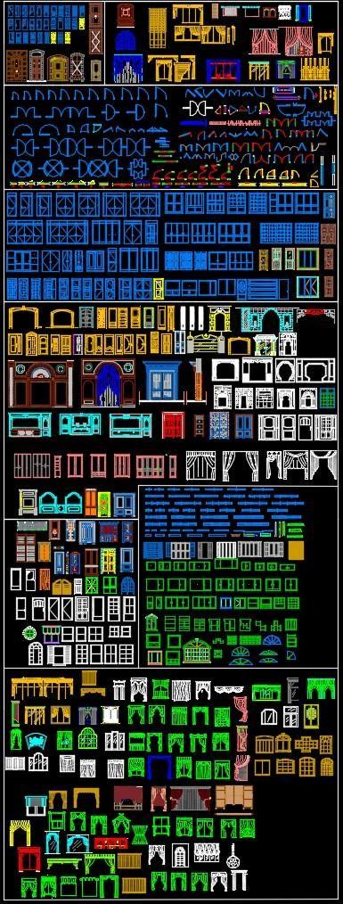All Windows Curtain Blocks Architect Graduation Projects - plan maison r 1 gratuit