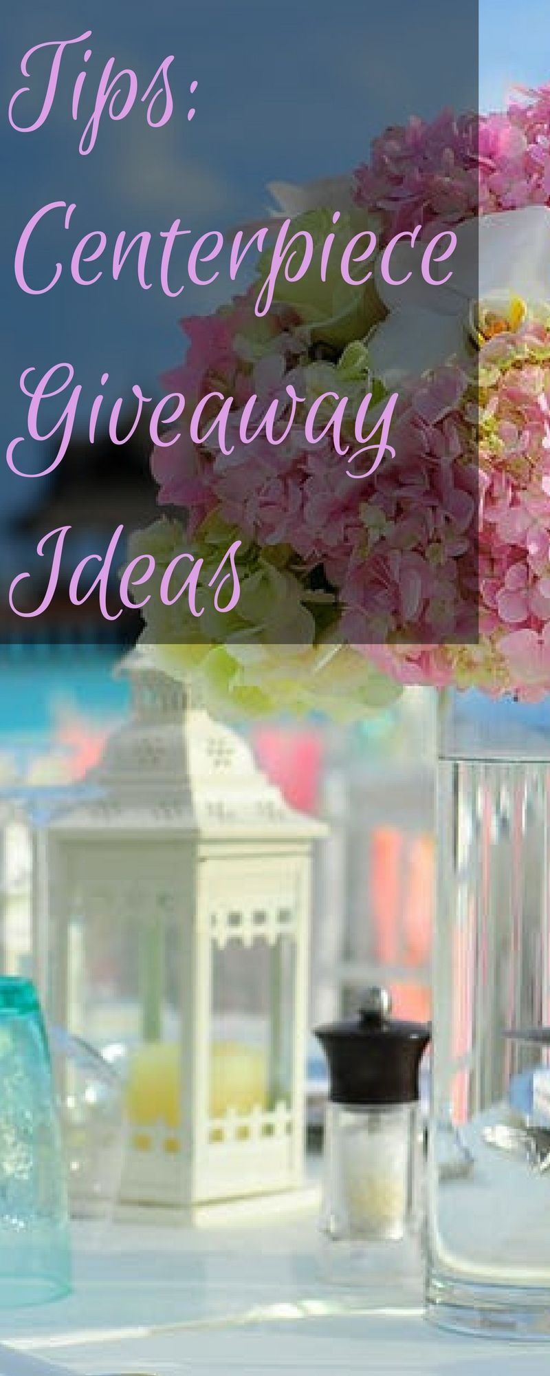 Tips centerpiece giveaway ideas wedding 101 pinterest centerpieces are one of the key elements in your wedding decor i thought about what junglespirit Gallery