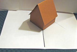 Gingerbread House Pop Up Card Tutorial Card Tutorial Pop Up Book Paper Pop