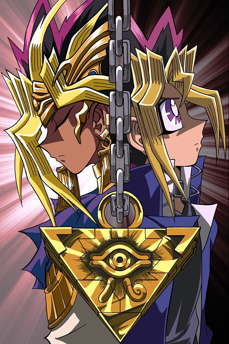 Pharaoh Atem also known as Yami Yugi & Yugi from YuGiOh