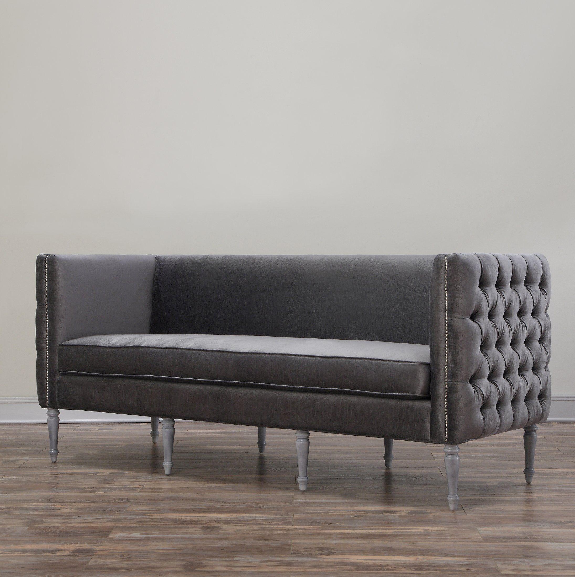 TOV Furniture The Bryn Collection Modern Style Velvet Upholstered
