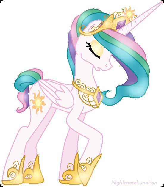 Princess Celestia | My little pony | Pinterest | Unicornio, Arte de ...