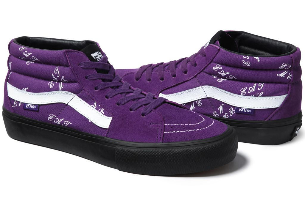f8e3c026d4e Supreme x Vans 2015 Fall Winter Sk8-Mid Collection