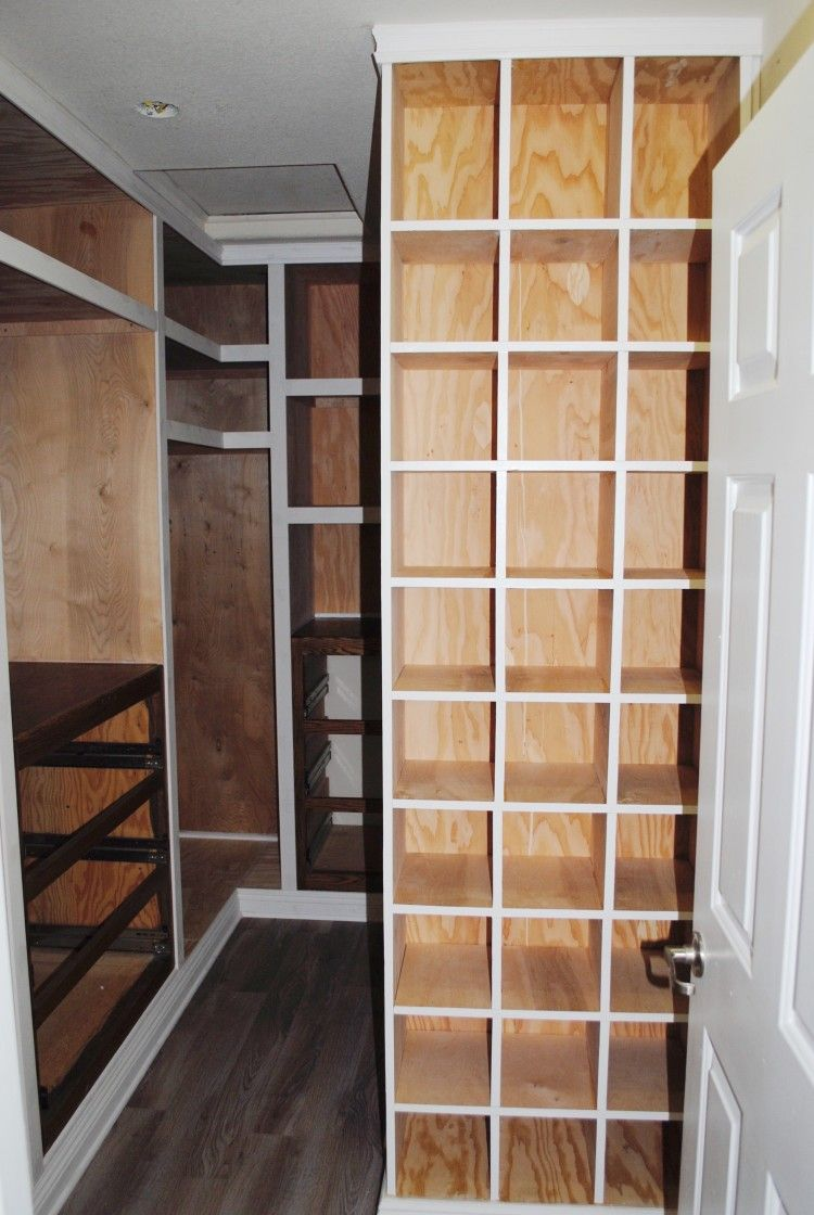 Marvelous Step By Step Closet Makeover On Small Walk In Closet