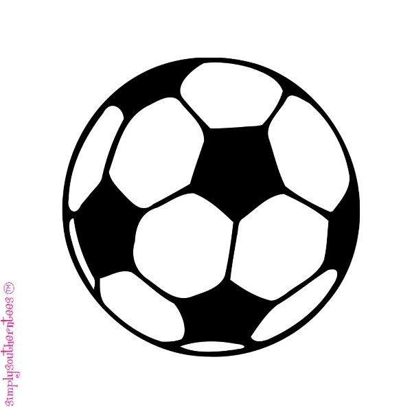 SOCCER BALL decal  ...