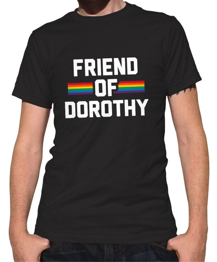 Men's Friend Of Dorothy Gay Pride T-Shirt