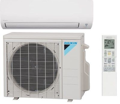 daikin 19 series 12 000 btu 19 seer ductless mini split heat pump system ductless mini split. Black Bedroom Furniture Sets. Home Design Ideas
