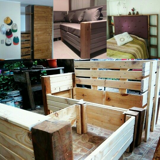 Muebles a medida #terrazas #madera #diseño DecoLuna Pinterest - terrazas en madera