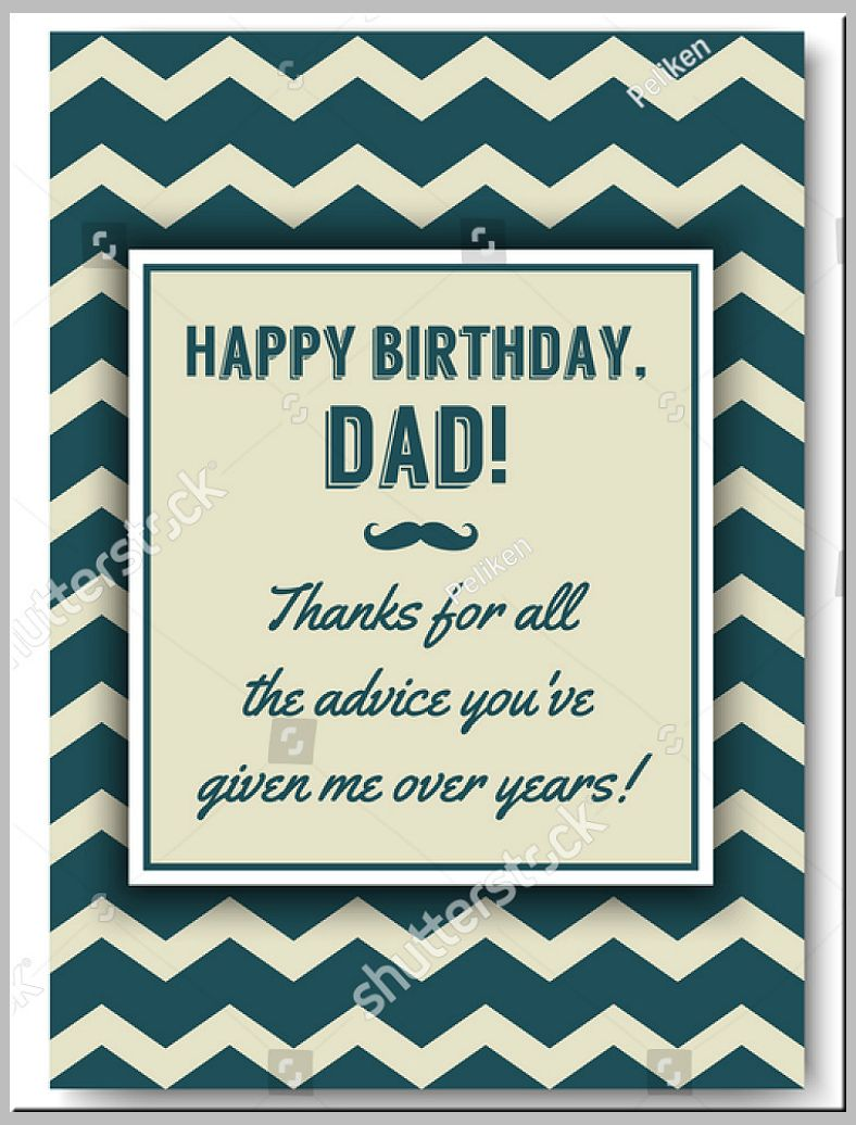 21 Dad Birthday Card Templates Designs Psd Ai Free With Indesign Birthday Card Templ Happy Birthday Daddy Card Birthday Card Template Dad Birthday Card